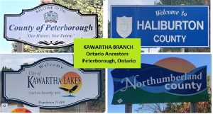 The Kawartha Branch of Ontario Ancestors